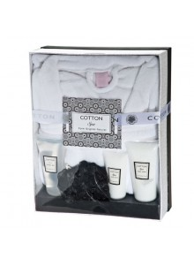 coffret spa peignoir. Black Bedroom Furniture Sets. Home Design Ideas