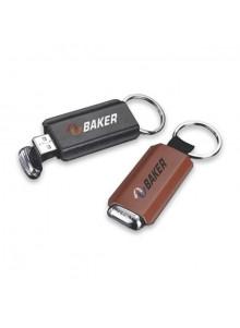 objet publicitaire - promenoch - Clé USB cuir  - Clés USB Publicitaire