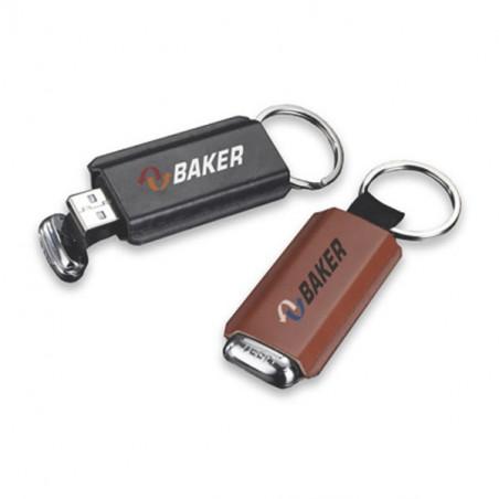 Clé USB cuir