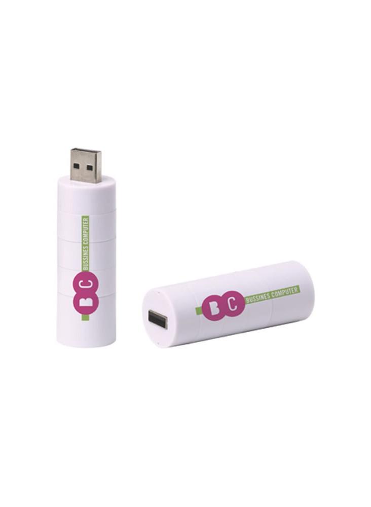Clé USB tube  publicitaire
