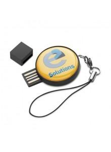 objet publicitaire - promenoch - Clé USB Ronde  - Clés USB Publicitaire