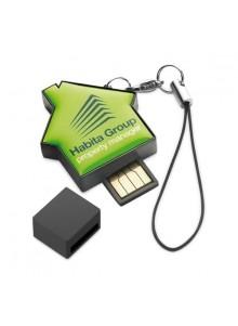 objet publicitaire - promenoch - Clé USB Maison  - Clés USB Publicitaire