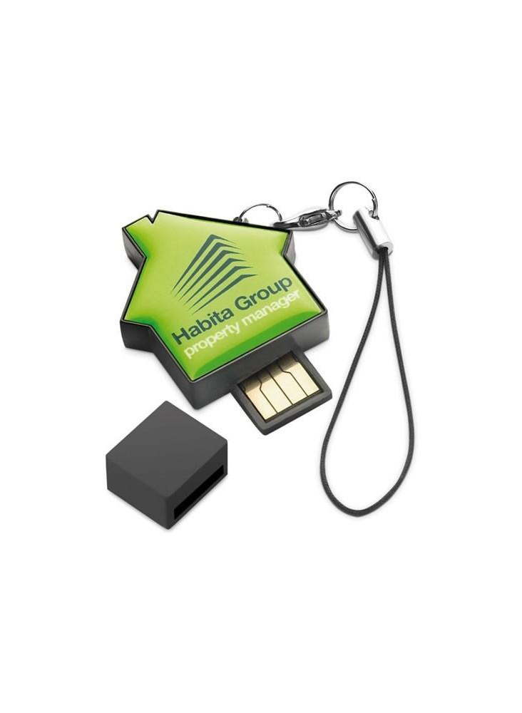 Clé USB Maison  publicitaire