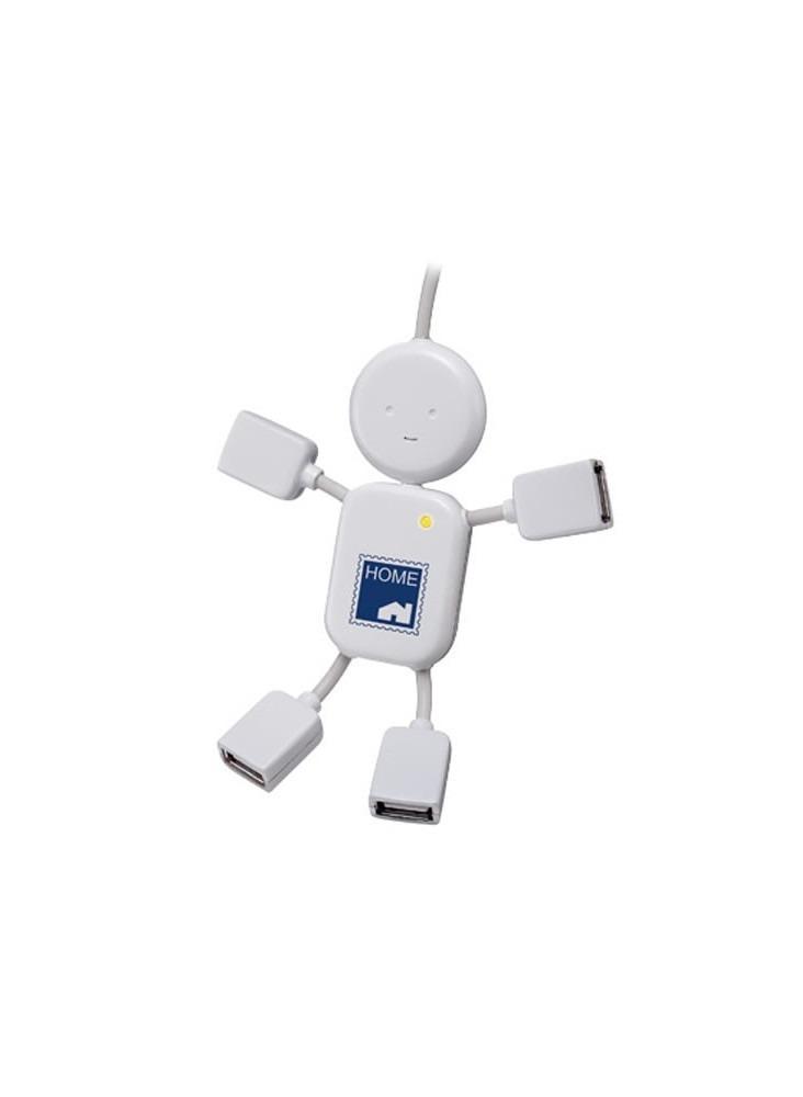 objet publicitaire - promenoch - Hub USB bonhomme  - objets connectés publicitaire