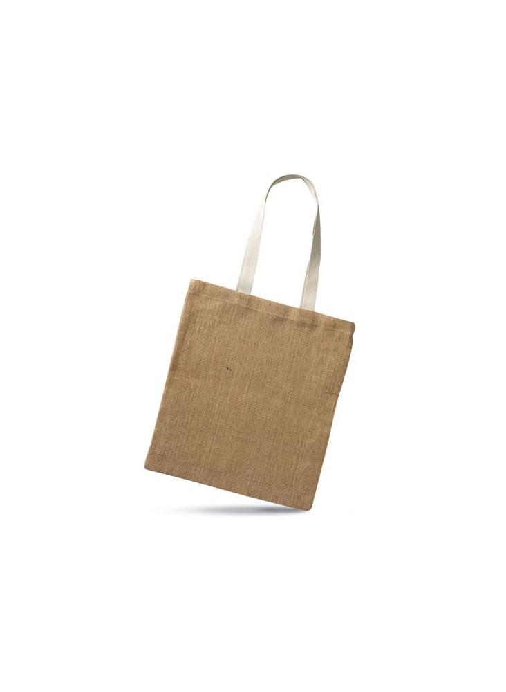 objet publicitaire - promenoch - Sac Toile de Jute publicitaire  - Sacs Shopping Publicitaire