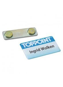 objet publicitaire - promenoch - Badge Aimanté  - Badges personnalisés