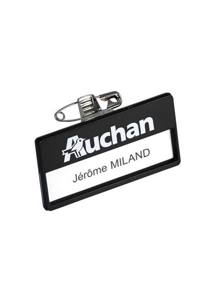 Badge Rectangulaire  publicitaire