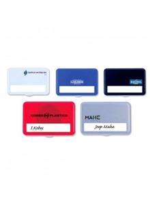 objet publicitaire - promenoch - Badge Rectangulaire  - Badges personnalisés