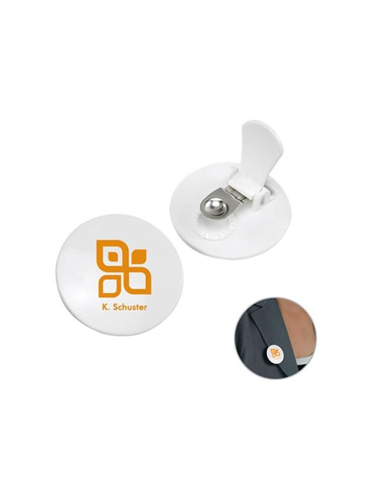 objet publicitaire - promenoch - Badge Pince  - Badges personnalisés