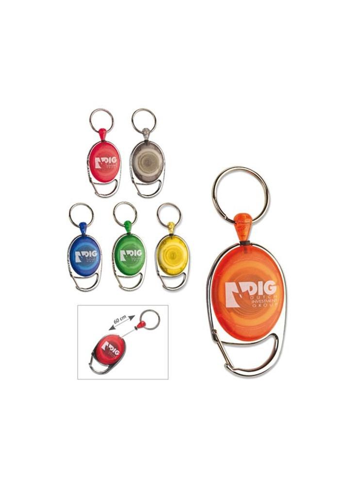 Porte-badge Enrouleur Color  publicitaire