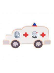 objet publicitaire - promenoch - Cadre Ambulance  - Décoration chambre enfant