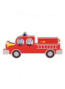 objet publicitaire - promenoch - Cadre Pompier  - Décoration chambre enfant