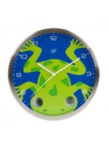 objet publicitaire - promenoch - Horloge Grenouille  - Décoration chambre enfant