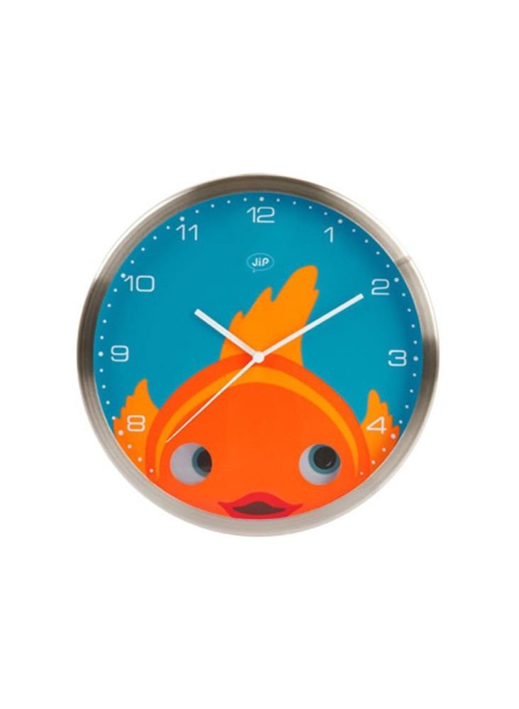 objet publicitaire - promenoch - Horloge Poisson  - Décoration chambre enfant