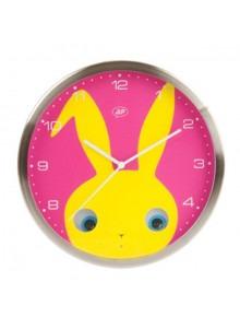 objet publicitaire - promenoch - Horloge Lapin  - Décoration chambre enfant