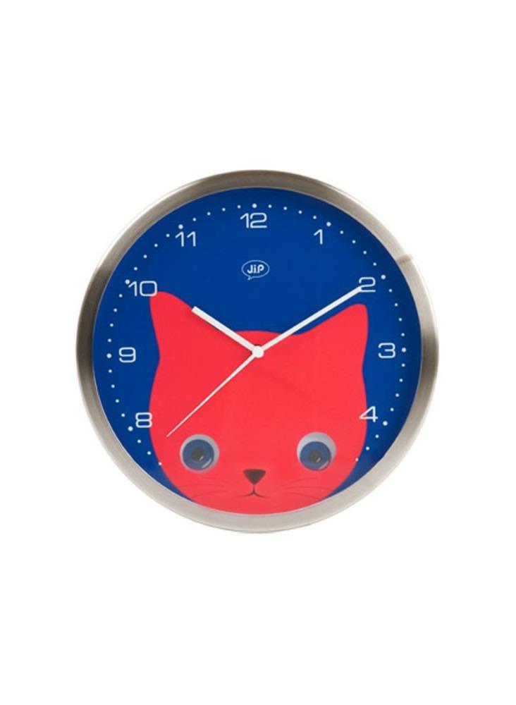 Horloge Chat  publicitaire