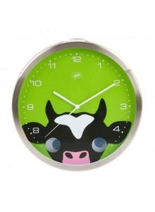 objet publicitaire - promenoch - Horloge Vache  - Décoration chambre enfant