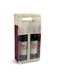 objet publicitaire - promenoch - Sac 2 Bouteilles Vin  - Accessoires sommelier