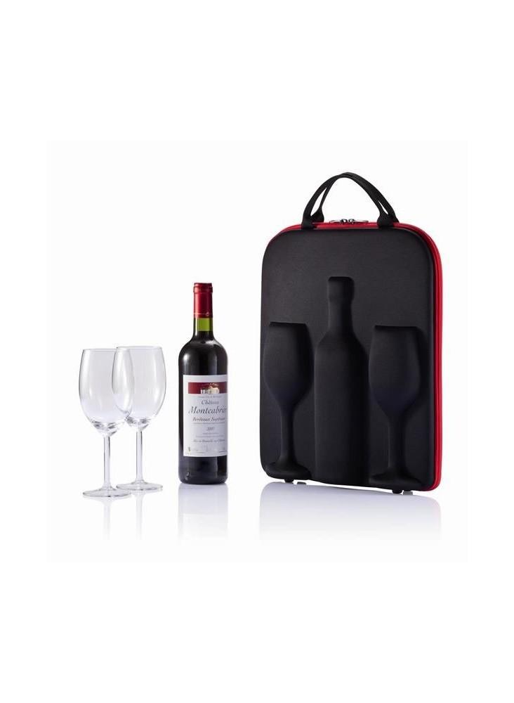 Pochette à vin  publicitaire