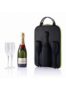 objet publicitaire - promenoch - Pochette Champagne  - Accessoires Vin Sommelier