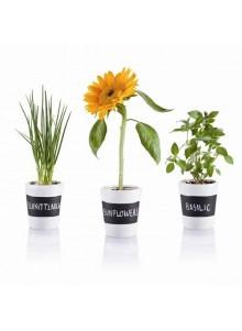 objet publicitaire - promenoch - 3 Pots à herbes  - Ustensiles de Cuisine