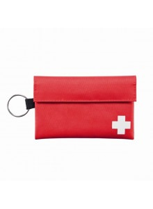 objet publicitaire - promenoch - Pochette 1er Soins  - Kit Premiers Secours