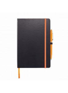 objet publicitaire - promenoch - Carnet de notes A5  - Carnets et bloc-notes Personnalisés