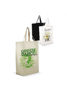 objet publicitaire - promenoch - Sac Shopping Coton  - Sacs Shopping Publicitaire