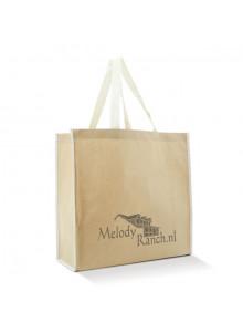 objet publicitaire - promenoch - Sac Courses Polyester & Papier  - Sacs Shopping Publicitaire