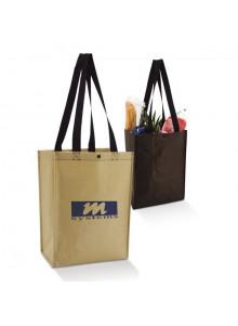 objet publicitaire - promenoch - Sac Papier Longues Anses  - Sacs Shopping Publicitaire