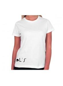 objet publicitaire - promenoch - Tee-shirt Bi-Ethic  - Tee-shirt Femme M. Courtes
