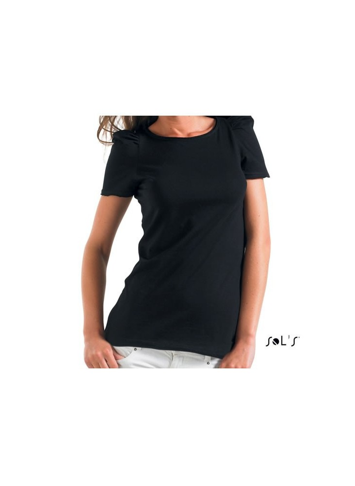 objet publicitaire - promenoch - Tee-shirt Montmartre  - Tee-shirt Femme M. Courtes
