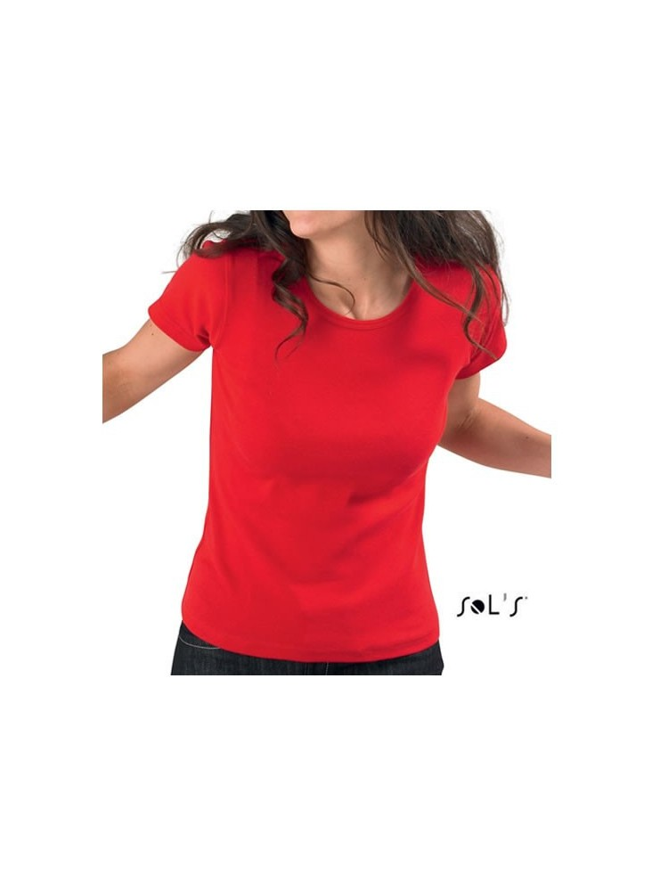 Tee-shirt Lady o  publicitaire