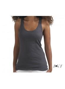 objet publicitaire - promenoch - Tee-shirt St Germain  - Tee-shirt Femme M. Courtes