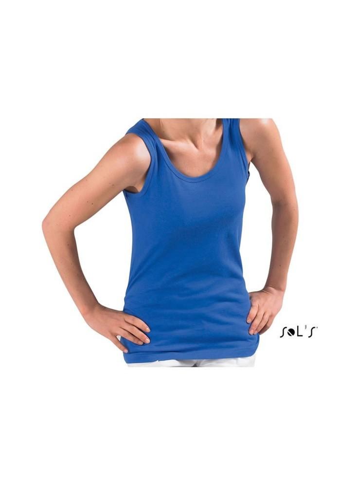 objet publicitaire - promenoch - Tee-shirt Jane  - Tee-shirt Femme M. Courtes
