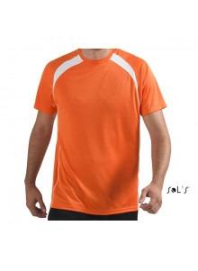 objet publicitaire - promenoch - Tee-shirt Match  - Tee-shirt Homme M. Courtes