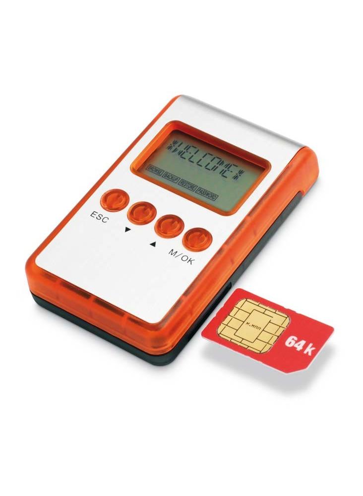 objet publicitaire - promenoch - lecteur Carte SIM  - Accessoires Téléphone