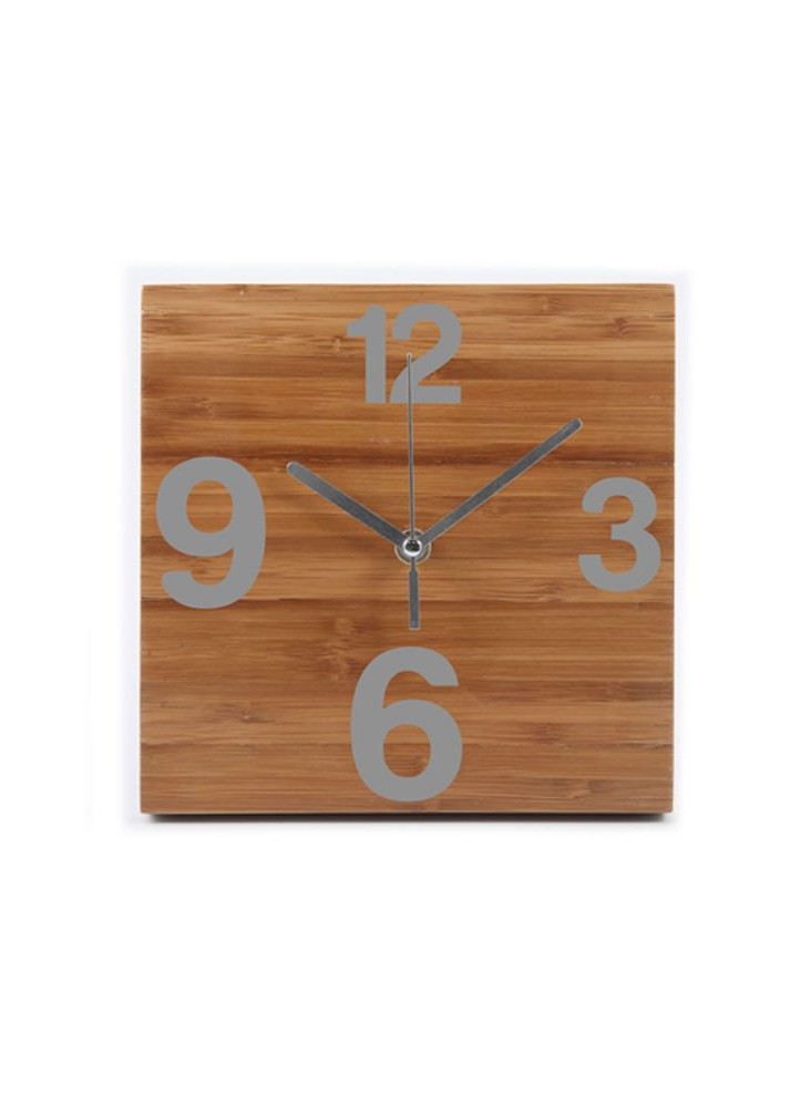 Pendule Bambou Time  publicitaire