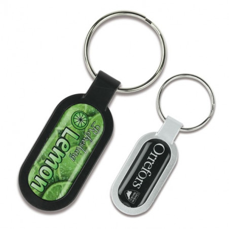Porte-clés Ovale
