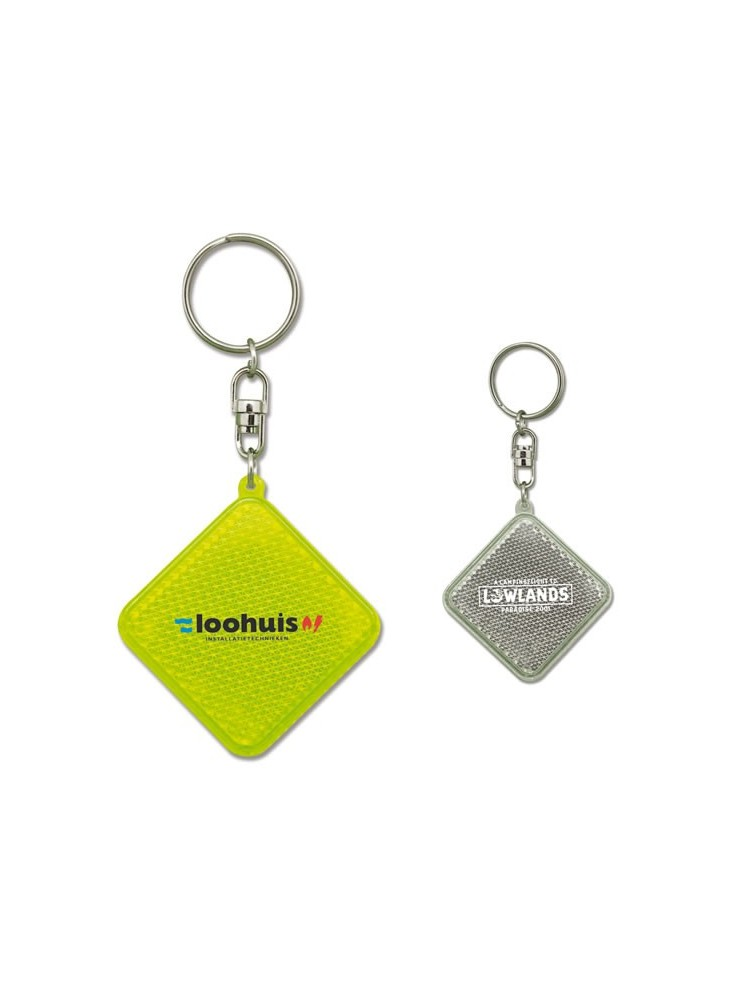 Porte-clés Losange  publicitaire