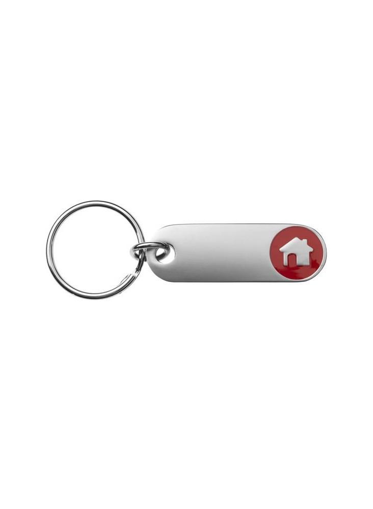 Porte-clés Maison  publicitaire