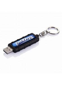 objet publicitaire - promenoch - Porte-clés USB 2Go  - Porte-clés Publicitaire