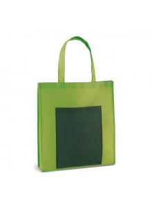 objet publicitaire - promenoch - Sac à Courses Poche Frontale  - Sacs Shopping Publicitaire