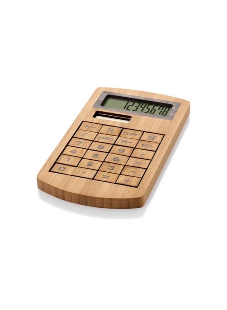 Calculatrice Bambou  publicitaire
