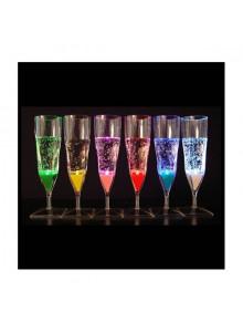 objet publicitaire - promenoch - Flûte Champagne Fluo  - Fête Soirée Evénementielle