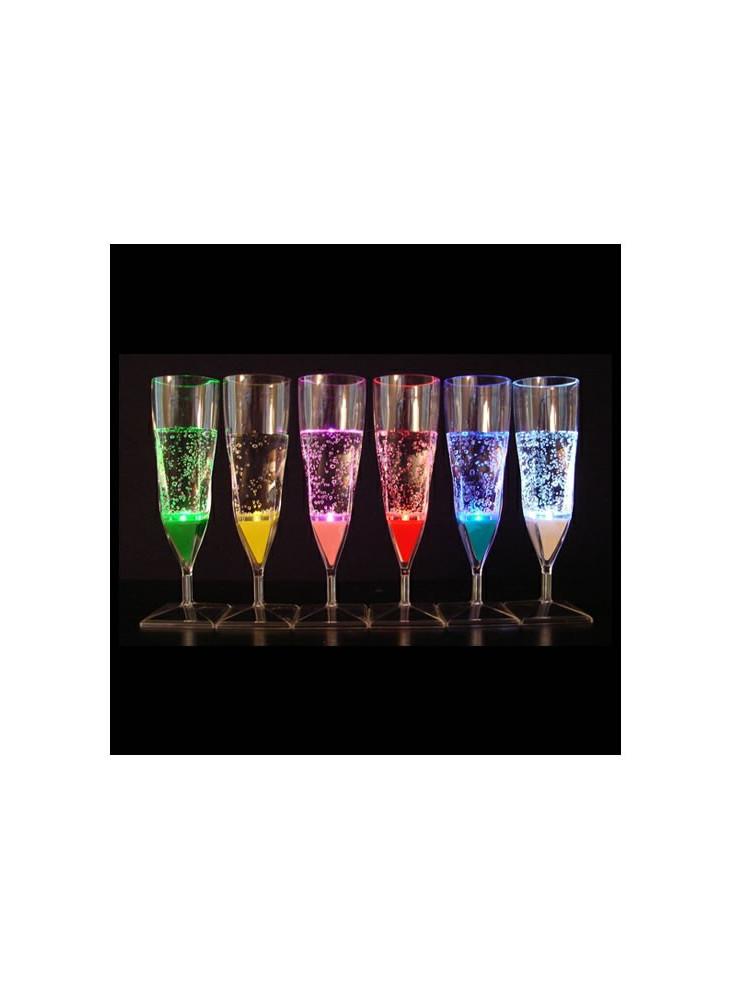 Flûte Champagne Fluo  publicitaire