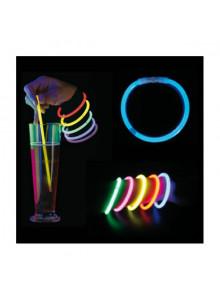objet publicitaire - promenoch - Bracelet Lumineux Fluo  - Fête Soirée Evénementielle