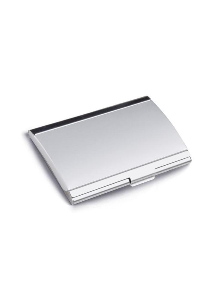 Porte-carte de visite en aluminium  publicitaire