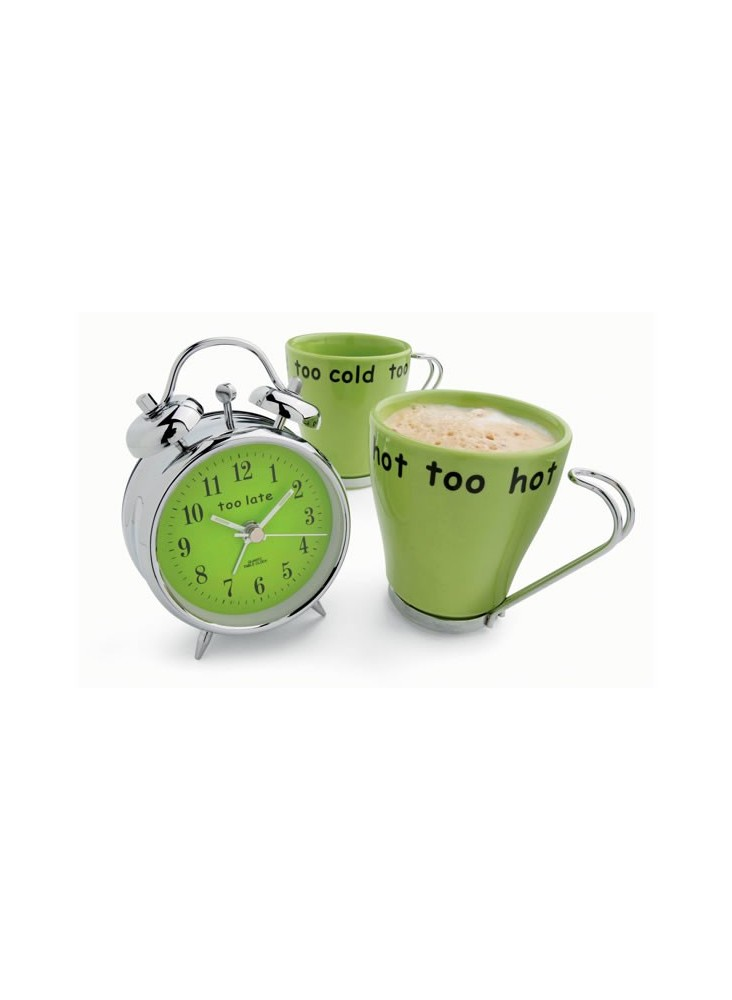 Réveil + Tasses Café  publicitaire