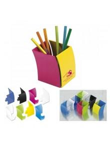 objet publicitaire - promenoch - Pot à Crayons Color  - Pot à Crayons Personnalisé
